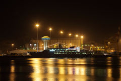 Sultan Qaboos Port in Muscat Royalty Free Stock Image