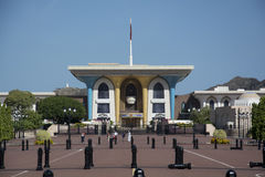 Sultan Qaboos slott Oman Royaltyfri Foto