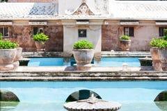 Sultan's bath - Water Palace, Taman Sari in Yogyakarta, Indonesi Stock Photos