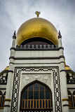 Sultan's mosque, Singapore. A shot of the front entrance to Sultan's mosque in Singapore Royalty Free Stock Photography
