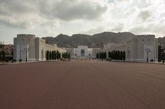 Sultan's Palace. In Muscat, Oman Stock Photos