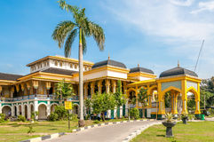 Sultans Palace in Medan Stock Photography