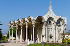 Sultan's Pavilion in Beylerbeyi Palace Royalty Free Stock Images