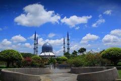 Sultan Salahuddin Abdul Aziz Mosque Immagini Stock Libere da Diritti