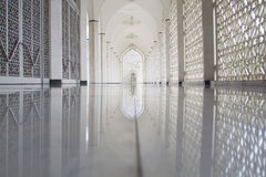 Sultan Salahuddin Abdul Aziz Mosque in Shah Alam, Malaysia Stockfotografie