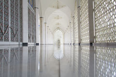 Sultan Salahuddin Abdul Aziz Mosque in Shah Alam, Malaysia Stockfotos