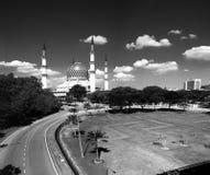 Sultan Salahuddin Abdul Aziz Mosque Stock Photo