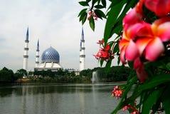 Sultan Salahuddin Abdul Aziz Mosque Stock Image