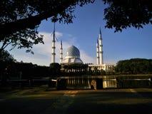 Sultan Salahuddin Abdul Aziz Shah-Moschee, Shah Alam, Selangor stockbilder