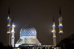 Sultan Salahuddin Abdul Aziz Shah Mosque Stock Images