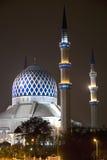 Sultan Salahuddin Abdul Aziz Shah Mosque Royalty Free Stock Image