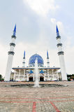 The Sultan Salahuddin Abdul Aziz Shah Mosque Stock Images