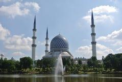 Sultan Salahuddin Abdul Aziz Shah Mosque a.k.a Shah Alam Mosque Stock Images