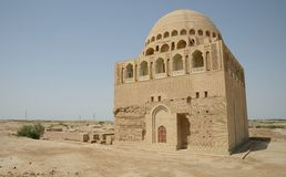 Sultan Sandjar mosque, Merv, Turkmenistan Stock Image