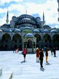 Sultan Shah masque. Awesome city in Istanbul Stock Photography