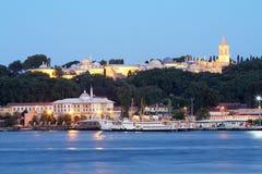Sultan Topkapi Palace (Topkapi Sarayi) in Istanbul, Turkey Royalty Free Stock Image