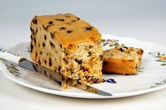 Sultana sponge cake. Royalty Free Stock Images