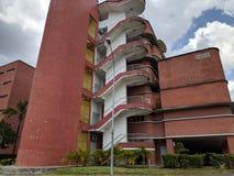 Sultanahen Aminah Hospital i Johor Bahru arkivfoto