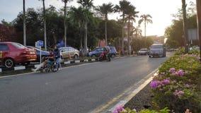 Sultanahen Aminah Hospital i Johor Bahru royaltyfri fotografi