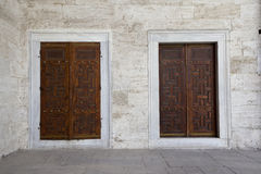 Sultanahmed doors Stock Images