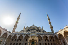 Sultanahment mosque (Blue Mosque) Royalty Free Stock Photo