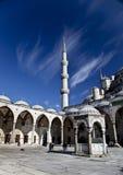 Sultanahmet清真寺在伊斯坦布尔 库存照片