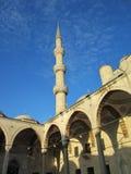 Sultanahmet清真寺,蓝色清真寺 库存图片