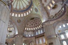 Sultanahmet清真寺 库存图片