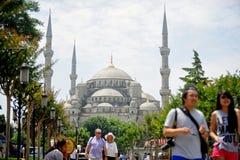 Sultanahmet清真寺 免版税库存照片