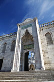 Sultanahmet蓝色清真寺-前院 图库摄影