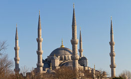 Sultanahmet Blue Mosque Stock Photography