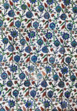 Sultanahmet Blue Mosque interior - tiles Royalty Free Stock Image