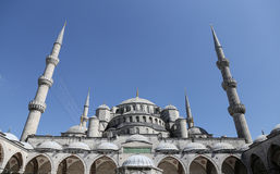 Sultanahmet Blue Mosque in Istanbul Stock Photo