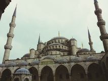 Sultanahmet Blue Mosque, Istanbul, Turkey. Royalty Free Stock Photography