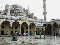 Sultanahmet Blue Mosque Istanbul-Turkey. stock image