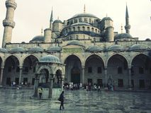Sultanahmet Blue Mosque Istanbul,Turkey. stock image