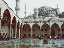 Sultanahmet Blue Mosque Istanbul,Turkey stock image