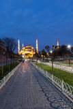 Sultanahmet Blue Mosque at night Royalty Free Stock Image