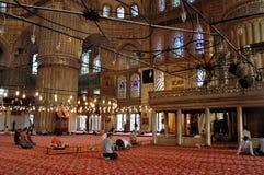 Sultanahmet Camii (Blauwe Moskee) - Istanboel Stock Foto's