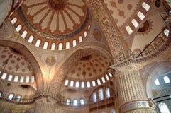 Sultanahmet Camii (Blauwe Moskee) - Istanboel Royalty-vrije Stock Fotografie