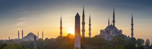 Sultanahmet Camii/Blauwe Moskee, Istanboel, Turkije Royalty-vrije Stock Foto's