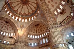 Sultanahmet Camii (Blue Mosque) - Istanbul Royalty Free Stock Photography