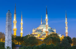Sultanahmet Camii / Blue Mosque, Istanbul, Turkey Royalty Free Stock Photography