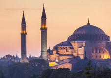 Sultanahmet Camii / Blue Mosque, Istanbul, Turkey Royalty Free Stock Photo