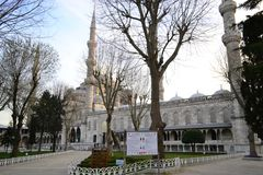 Sultanahmet Camii in Istanbul in the morning. 