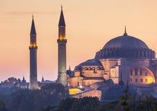 Sultanahmet Camii/moschea blu, Costantinopoli, Turchia Fotografia Stock Libera da Diritti