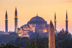 Sultanahmet Camii/moschea blu, Costantinopoli, Turchia Fotografie Stock