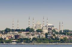 Sultanahmet en Hagia Sophia royalty-vrije stock fotografie
