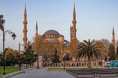 The dream city between europe and asian continents, istanbul.