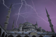 Sultanahmet is located in Istanbul. Royalty Free Stock Photos
